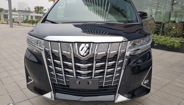 Đại lý Toyota Thái Hòa- Từ Liêm, Toyota Alphard 2019, màu đen, nhập khẩu, LH 0975 882 169