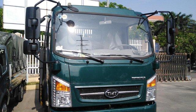Bán xe ben TMT 5T, màu xanh dưa