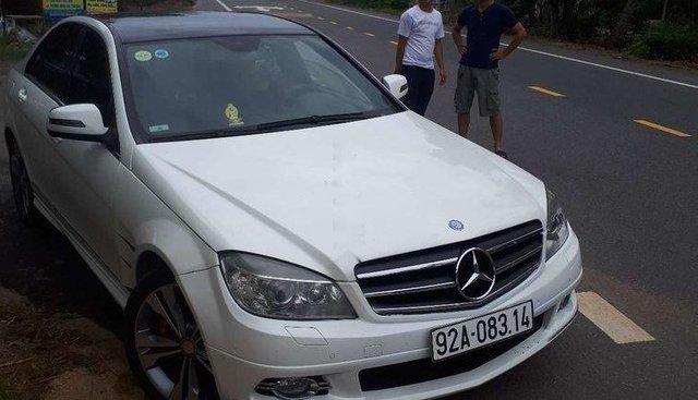 Chính chủ bán xe Mercedes C230 đời 2008, màu trắng, xe nhập