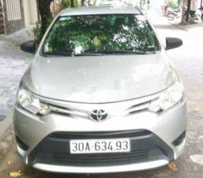 Bán Toyota Vios đời 2015, màu bạc, giá chỉ 365 triệu