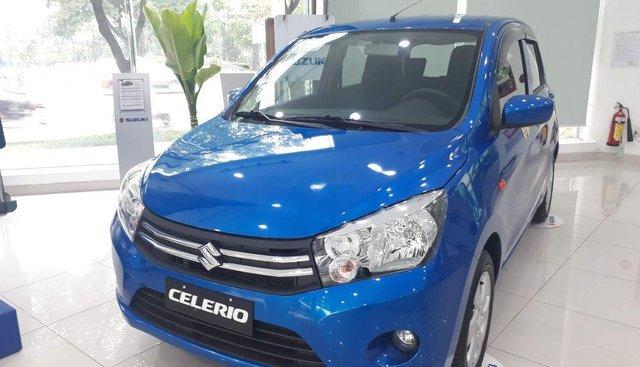Bán ô tô Suzuki Celerio đời 2019, màu xanh lam, nhập khẩu