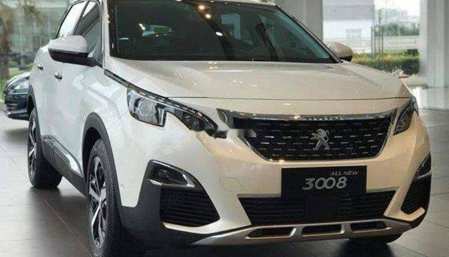 Bán xe Peugeot 3008 đời 2019, màu trắng
