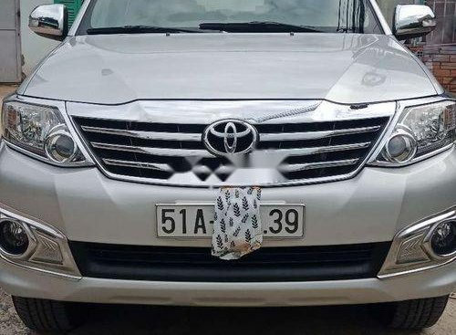 Bán Toyota Fortuner 2012, màu bạc, nhập khẩu còn mới
