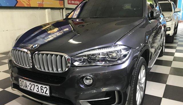 Cần bán xe BMW X5 3.0 sản xuất năm 2014, màu xám (ghi), nhập khẩu nguyên chiếc