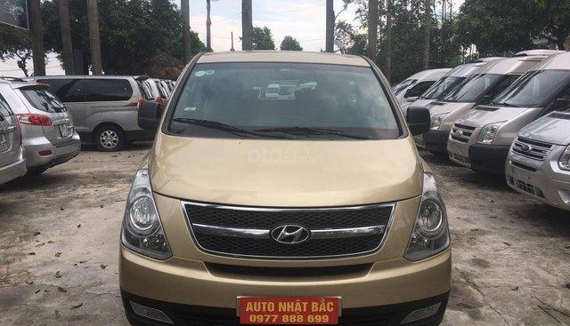 Bán ô tô Hyundai Starex đời 2010, màu vàng, nhập khẩu nguyên chiếc, 530 triệu