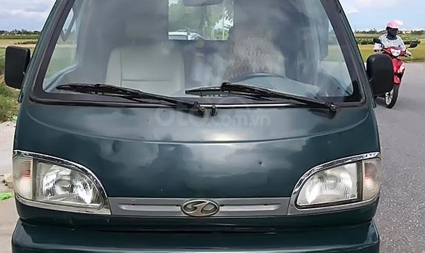 Cần bán xe Vinaxuki 1200B sản xuất năm 2004, màu xanh lam như mới, giá 28tr