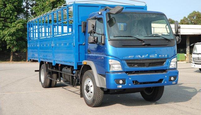 Bán xe tải 7 tấn Mitsubishi Fuso Canter 12.8RL, thùng bạt dài 6m9 - hỗ trợ trả góp