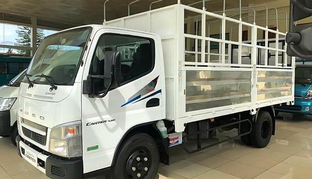 Bán ô tô Mitsubishi Canter đời 2019, màu trắng, giá 564tr