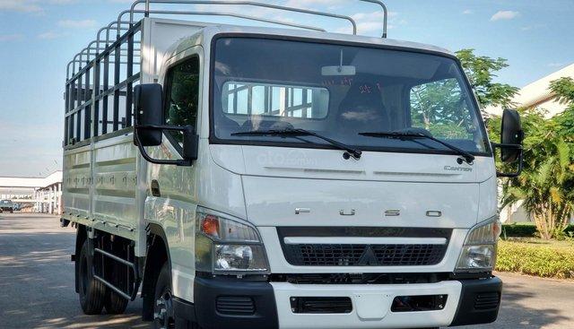 Xe tải Mitsubishi Fuso Canter 6.5 3.5 tấn thùng bạt - xuất xứ Nhật Bản