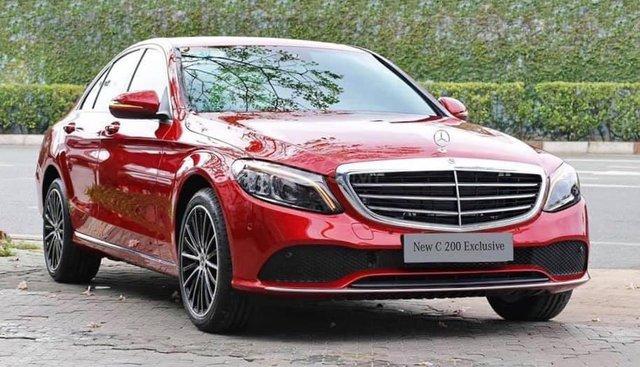 Giá xe Mercedes C200 Exclusive 2019: Thông số, giá lăn bánh (08/2019), chiết khấu tiền mặt, tặng bảo hiểm, tặng phụ kiện