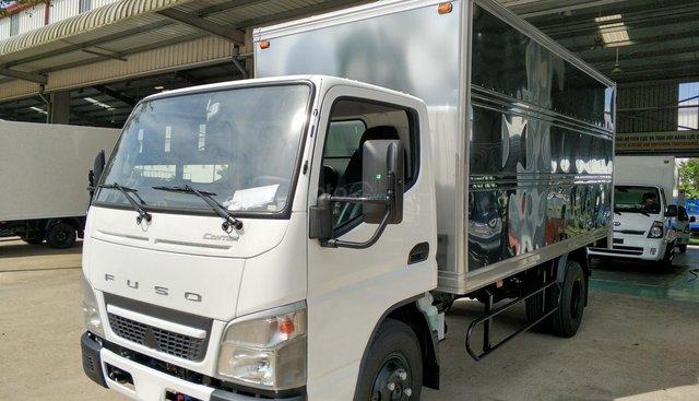 Xe tải Mitsubishi Fuso Canter 4.99 tải trọng 2.1 tấn thùng kín - thùng dài 4m35