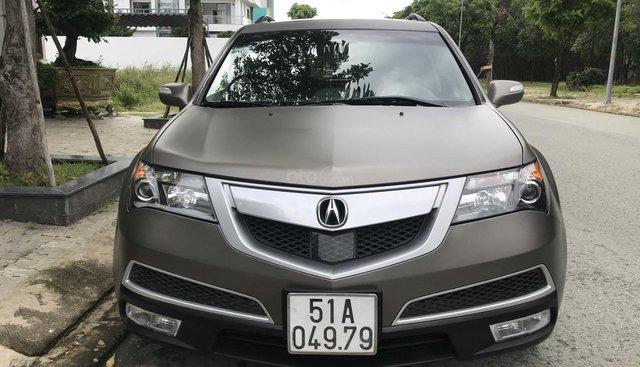 Bán Acura MDX sản xuất 2010, màu nâu xe gia đình giá chỉ 980 triệu đồng