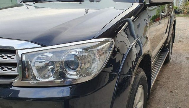 Bán xe cũ Toyota Fortuner năm 2011, màu đen