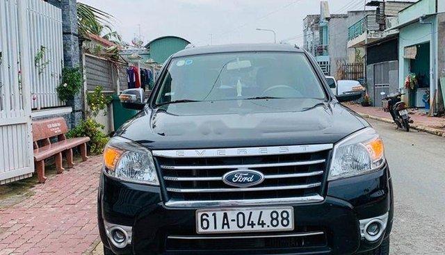 Bán Ford Everest Limited đời 2011, màu đen, nhập khẩu