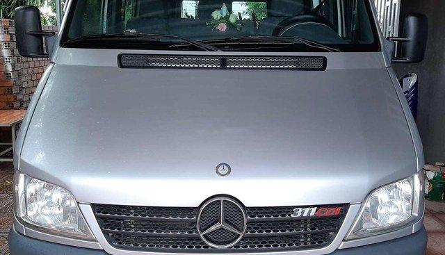 Bán Mercedes Sprinter 2010, màu bạc, xe nhập