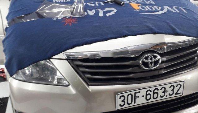 Bán lại xe Toyota Innova sản xuất 2012, màu bạc, 368tr