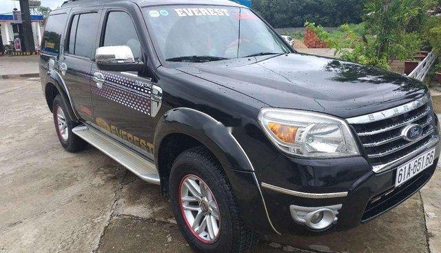 Bán gấp Ford Everest năm sản xuất 2009, màu đen, xe nhập, số sàn