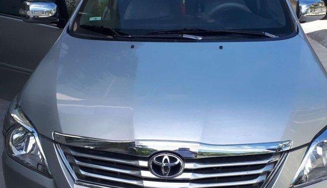 Bán lại xe Toyota Innova J năm 2008, màu bạc, 260tr