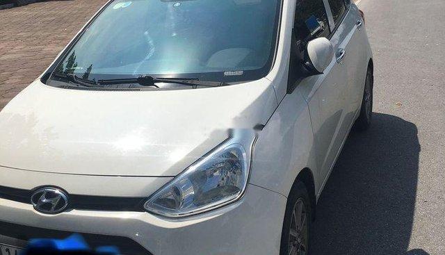 Cần bán Hyundai Grand i10 sản xuất 2015, màu trắng xe gia đình, 279tr