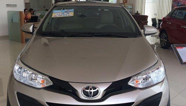 Bán xe Toyota Vios đời 2019, màu vàng