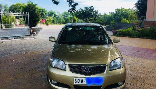 Bán Toyota Vios đời 2006, màu vàng, xe nhập