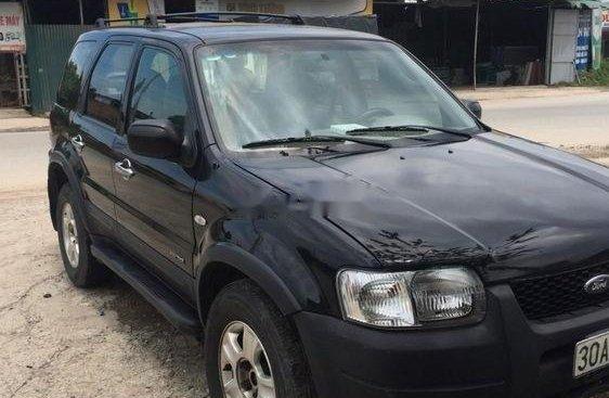 Cần bán xe cũ Ford Escape đời 2003, màu đen