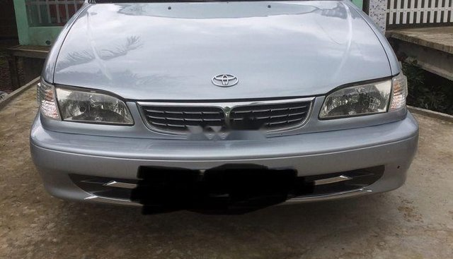 Bán Toyota Corolla 1.6 đời 2000, màu bạc, xe gia đình