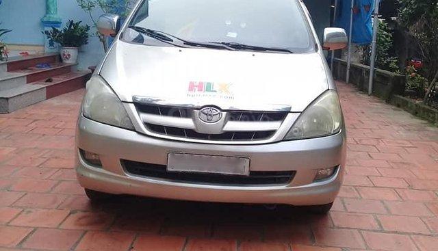 Bán Toyota inova G sản xuất 2008, màu bạc