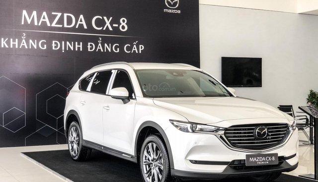 Xe CX8 Premium màu trắng năm 2019 - Hỗ trợ trả góp 80%