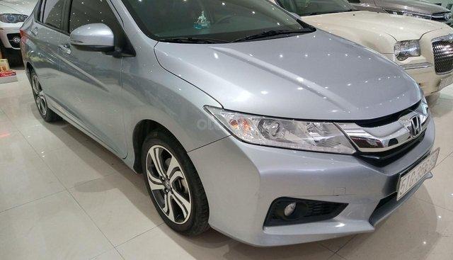 Honda City 1.5 CVT SX 2017, màu bạc, biển Tp HCM giá 495 triệu