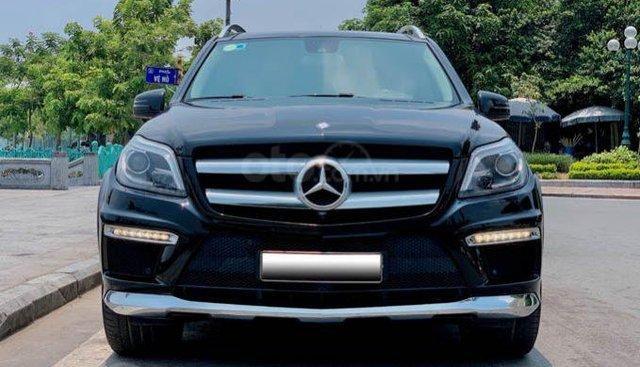 Bán Mercedes GL500 sản xuất năm 2014, màu đen, xe nhập số tự động