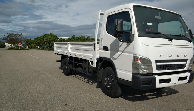 Xe tải Mitsubishi Fuso Canter 6.5 thùng lửng 3,49 tấn