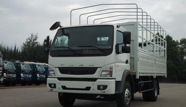 Xe tải nhật bản Mitsubishi Fuso Canter 10.4r thùng mui bạt - 5.75 tấn trả góp 80%