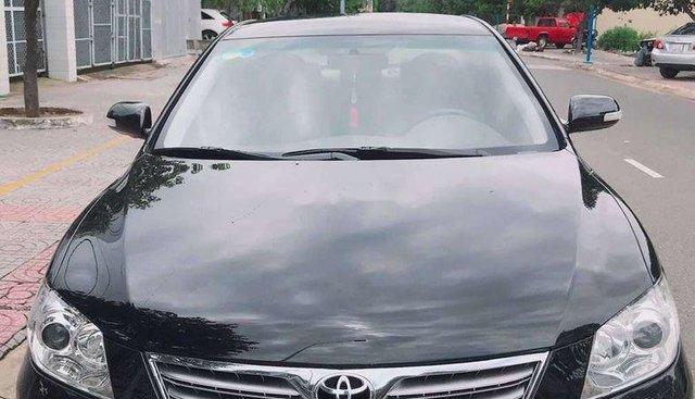 Cần bán Toyota Camry đời 2008, màu đen
