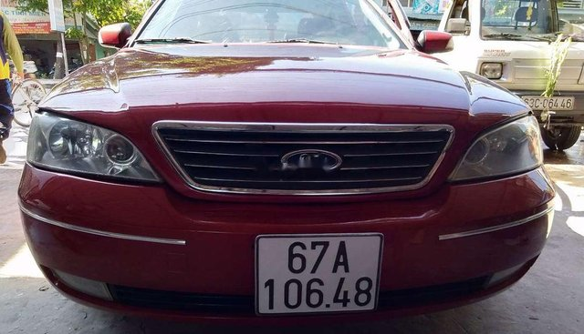 Bán Ford Mondeo đời 2003, màu đỏ, xe đẹp nguyên bản