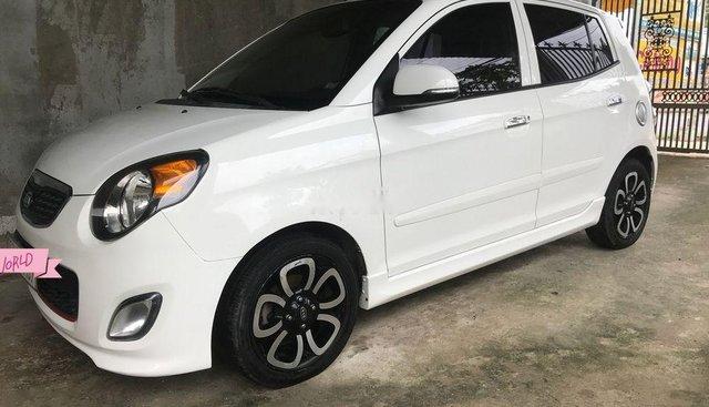 Bán Kia Morning SLX sản xuất 2010, màu trắng, xe nhập