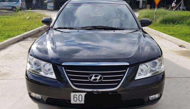 Bán Hyundai Sonata đời 2009, màu đen, xe nhập