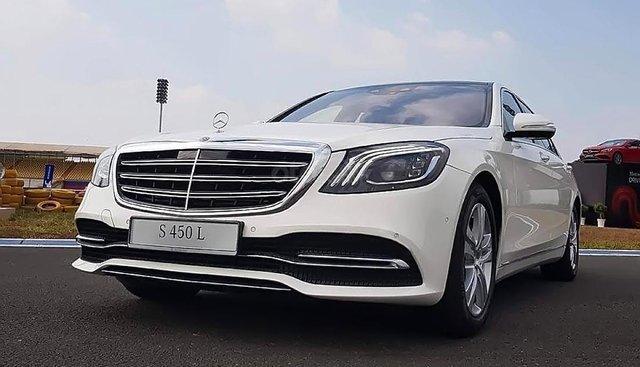 Cần bán xe Mercedes S450L năm 2019, màu trắng