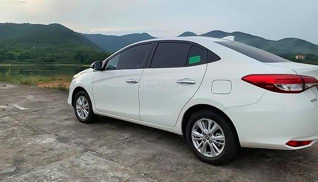 Bán Toyota Vios 1.5G sản xuất năm 2019, màu trắng số tự động
