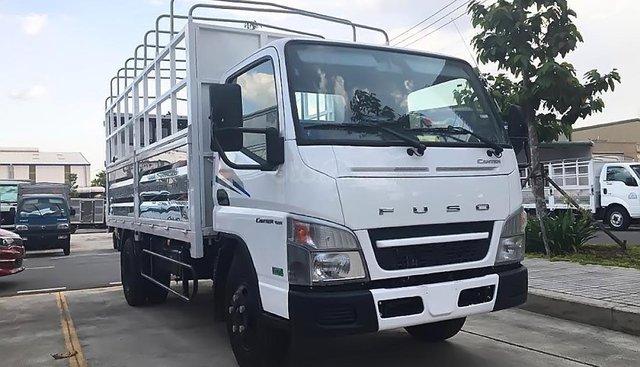 Bán Mitsubishi Canter 4.99 đời 2019, màu trắng