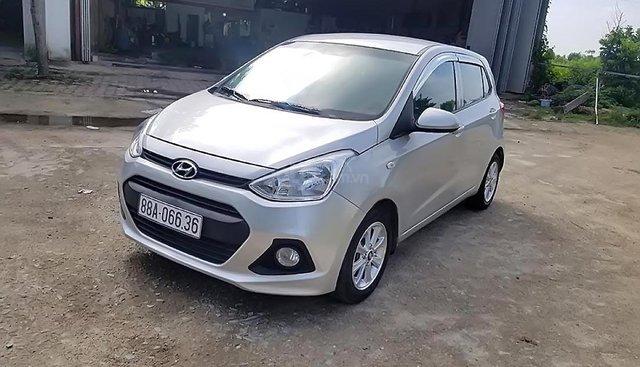 Chính chủ bán Hyundai Grand i10 1.0 MT đời 2014, màu bạc, xe nhập