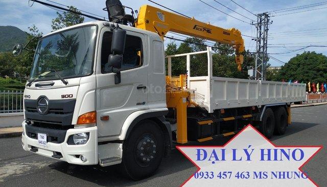 Bán xe Hino FM tổng tải 24 tấn gắn cẩu soosan 746 tải trọng còn 10 tấn năm 2019