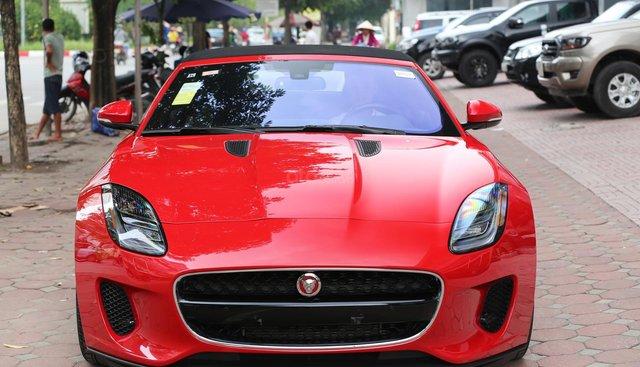 Bán ô tô Jaguar F Type Convertible 3.0 2018, màu đỏ, nhập khẩu