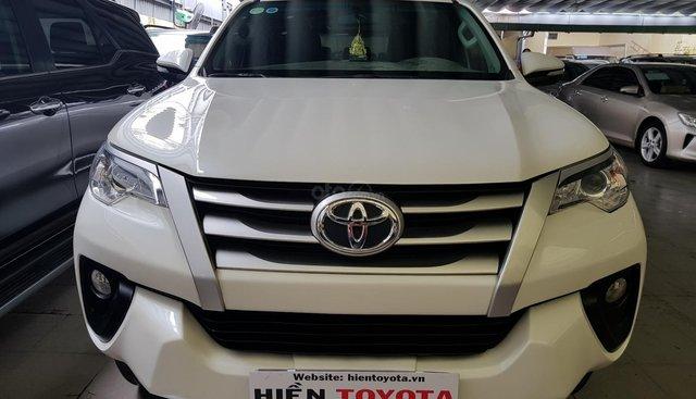 Bán Toyota Fortuner 2.4 sản xuất 2017, màu trắng, nhập khẩu