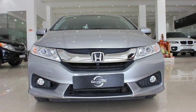 Bán Honda City 1.5CVT năm 2017, màu bạc, biển SG đẹp, giá 495tr