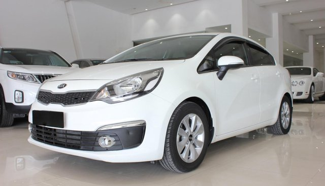 Cần bán xe Kia Rio 1.4 GAT đời 2016, màu trắng, nhập khẩu giá cạnh tranh