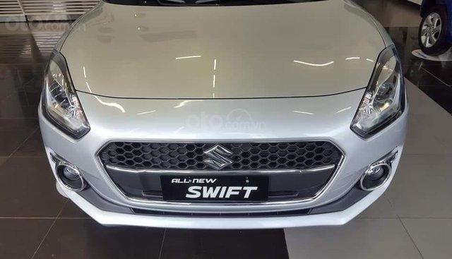 Bán ô tô Suzuki Swift GLX năm sản xuất 2019, màu bạc, nhập khẩu, giá tốt