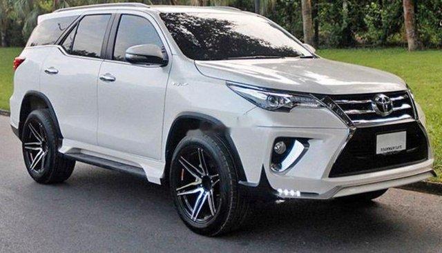 Cần bán xe Toyota Fortuner 2017, màu trắng