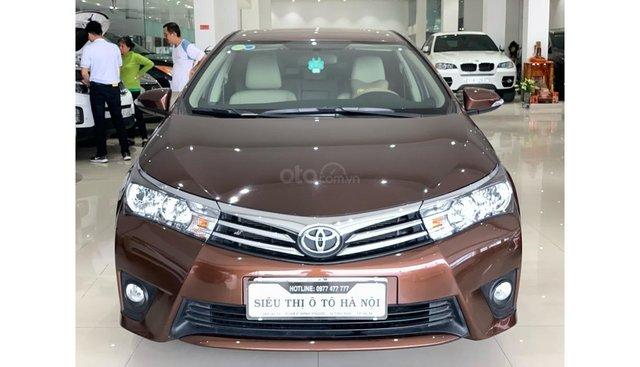 Bán Toyota Corolla Altis 1.8 AT 2016 màu nâu đồng, trả trước chỉ từ 198 triệu