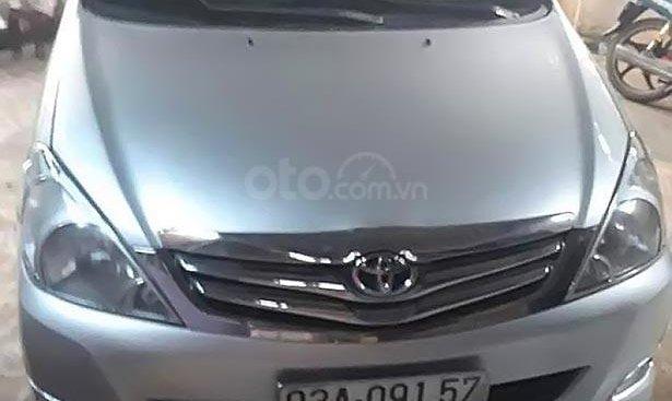 Cần bán xe Toyota Innova G 2007, màu bạc, xe nhập, giá tốt